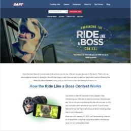 Dart Trucking Ride Like a Boss